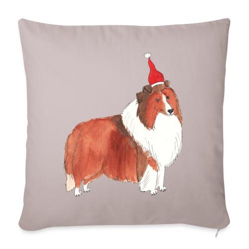 Shetland sheepdog Christmas - Pudebetræk 45 x 45 cm