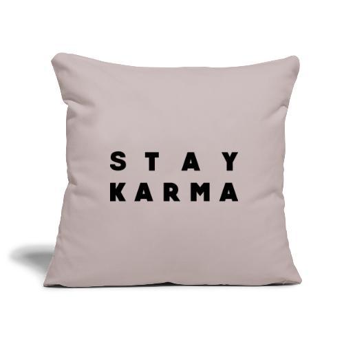 Stay Karma - Copricuscino per divano, 45 x 45 cm