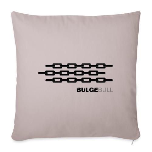 bulgebull 1 - Funda de cojín, 45 x 45 cm