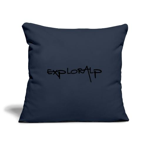 exploralp test oriz - Sofa pillowcase 17,3'' x 17,3'' (45 x 45 cm)