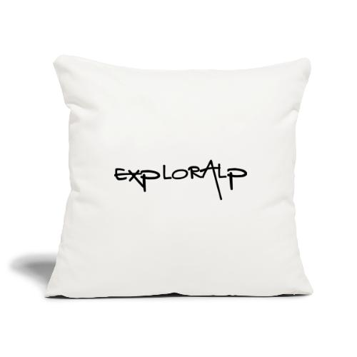 exploralp test oriz - Sofa pillowcase 17,3'' x 17,3'' (45 x 45 cm)