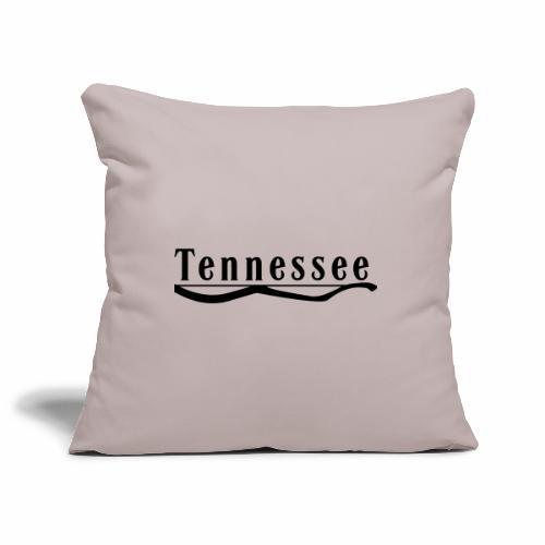 Tennessee - Housse de coussin décorative 45x 45cm