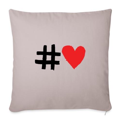 #Love - Pudebetræk 45 x 45 cm