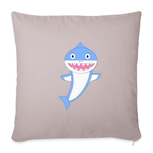 Sharky - Funda de cojín, 45 x 45 cm