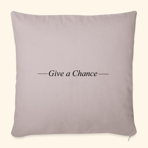 Give a Chance B - Sohvatyynyn päällinen 45 x 45 cm
