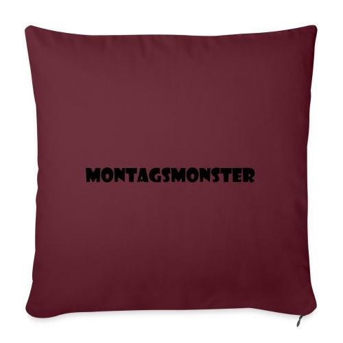 Montagsmonster - Sofakissenbezug 44 x 44 cm