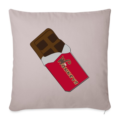 The Wonkeys Chocolate Edition - Copricuscino per divano, 45 x 45 cm