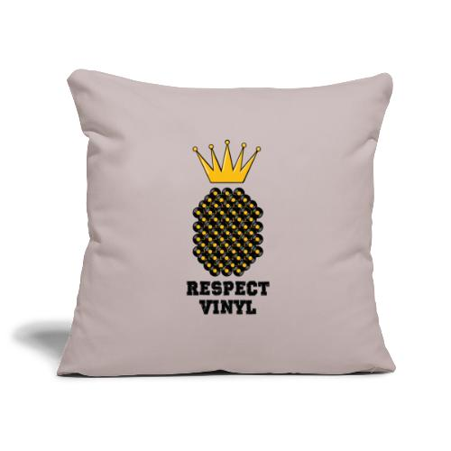 Kings & Queens • Respect Vinyl - Sofakissenbezug 44 x 44 cm