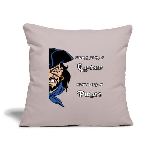captain pirate - Copricuscino per divano, 45 x 45 cm