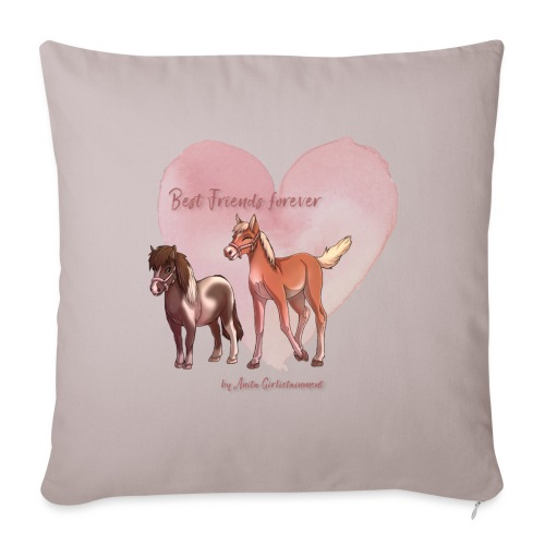 Best friends forever Anita Girlietainment - Sofakissenbezug 44 x 44 cm