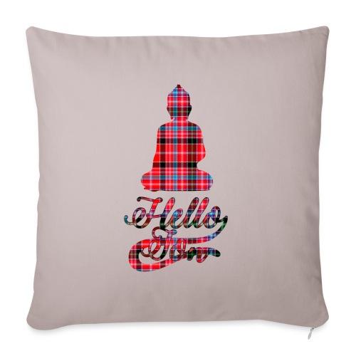 Hello Jon Red Tartan Homeware - Sofa pillowcase 17,3'' x 17,3'' (45 x 45 cm)