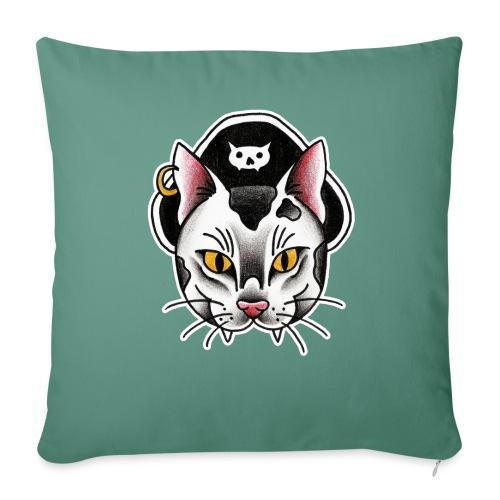 Piratecat - Copricuscino per divano, 45 x 45 cm