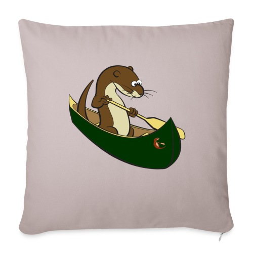 greencanoewithsticker - Sofa pillowcase 17,3'' x 17,3'' (45 x 45 cm)