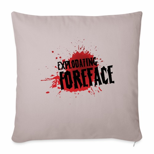 Eplodating Foreface - Sofa pillowcase 17,3'' x 17,3'' (45 x 45 cm)