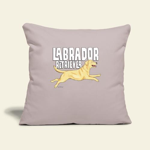 Labrador Retriever 3 - Sohvatyynyn päällinen 45 x 45 cm