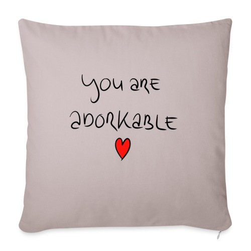 adorkable - Sofa pillowcase 17,3'' x 17,3'' (45 x 45 cm)