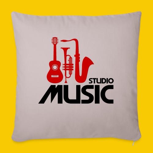 MUSICSTUDIO - Housse de coussin décorative 45x 45cm