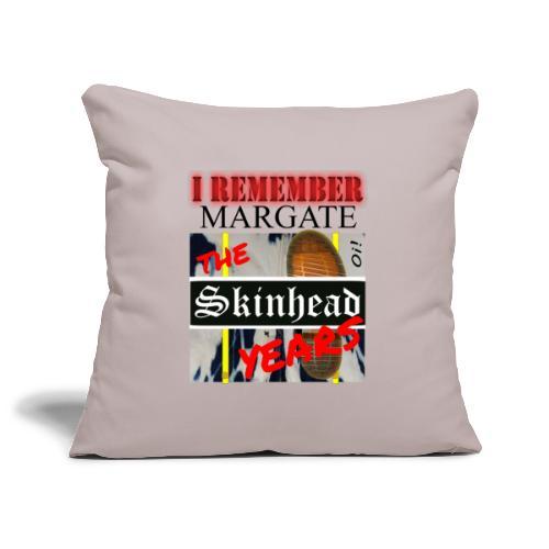 REMEMBER MARGATE - THE SKINHEAD YEARS 1980's - Sofa pillowcase 17,3'' x 17,3'' (45 x 45 cm)