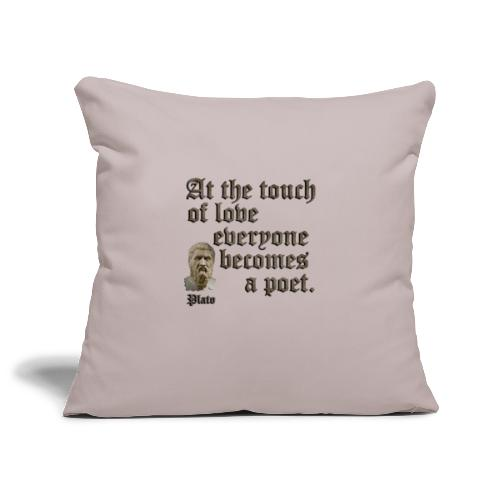 At the touch of love - Sofa pillowcase 17,3'' x 17,3'' (45 x 45 cm)