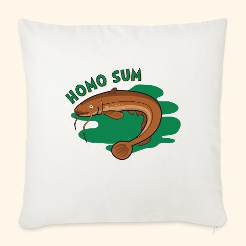 Homo sum ;) - Poszewka na poduszkę 45 x 45 cm