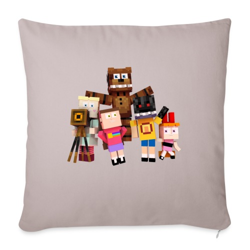 Withered Bonnie Productions - Meet The Gang - Sofa pillowcase 17,3'' x 17,3'' (45 x 45 cm)