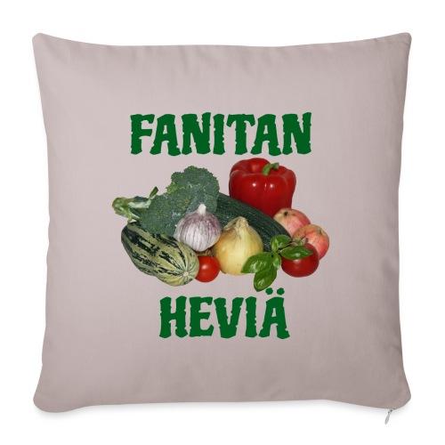 Fanitan heviä - Sohvatyynyn päällinen 45 x 45 cm
