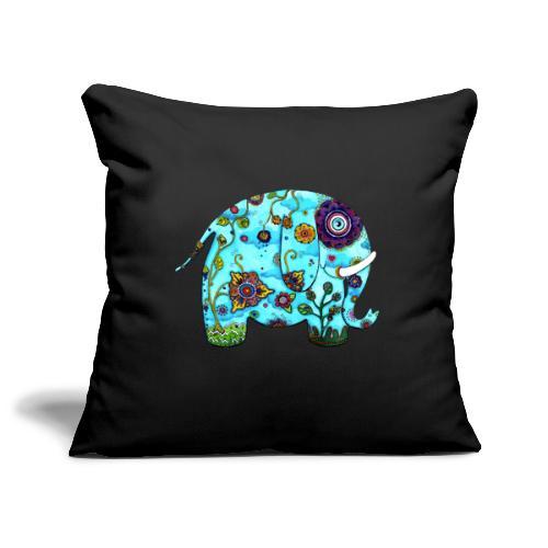 Max l'éléphant - Housse de coussin décorative 45x 45cm