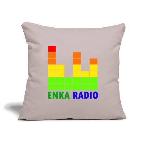 Enka radio - Housse de coussin décorative 45x 45cm