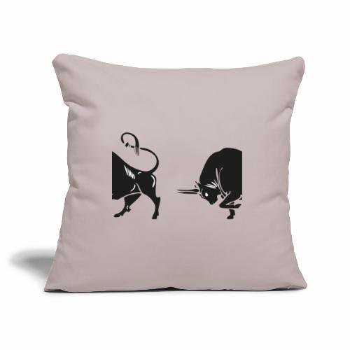 TORO - BULL - Copricuscino per divano, 45 x 45 cm