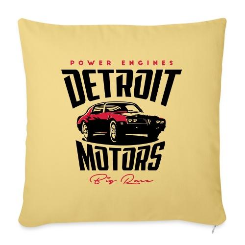 Detriot Motors - Funda de cojín, 45 x 45 cm