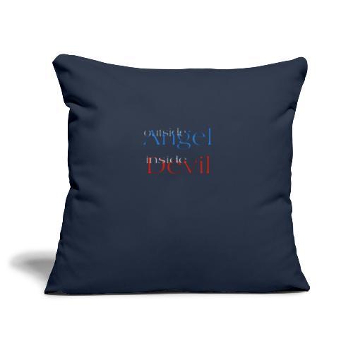 Angelo o Diavolo? - Copricuscino per divano, 45 x 45 cm