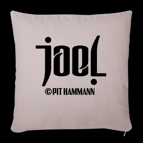 Ambigramm Joel 01 Pit Hammann - Sofakissenbezug 44 x 44 cm