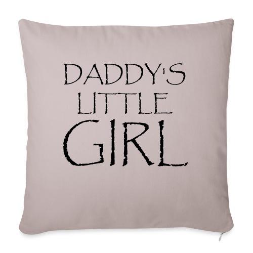 DADDY'S LITTLE GIRL - Sofakissenbezug 44 x 44 cm
