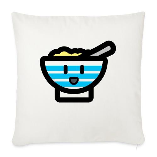 Cute Breakfast Bowl - Sofa pillowcase 17,3'' x 17,3'' (45 x 45 cm)