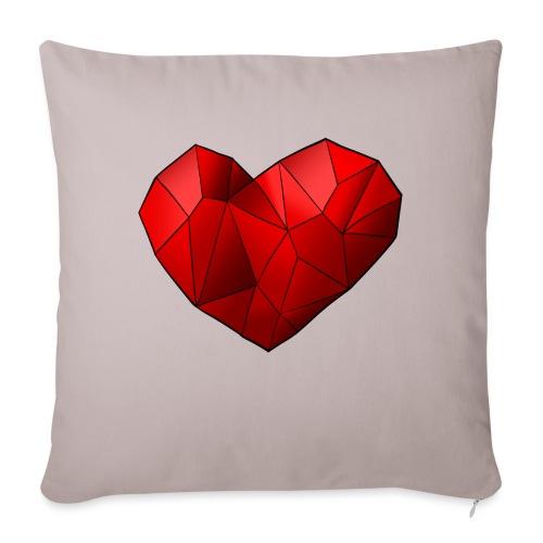 Heartart - Sofa pillowcase 17,3'' x 17,3'' (45 x 45 cm)