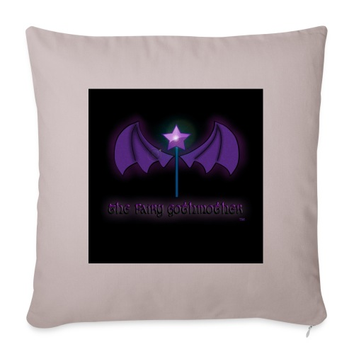 The Fairy Gothmother logo - Sofa pillowcase 17,3'' x 17,3'' (45 x 45 cm)