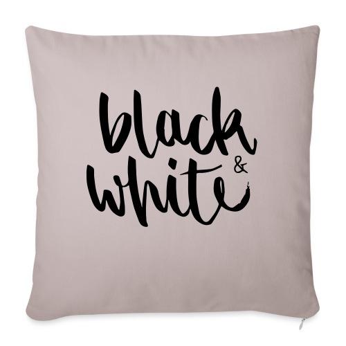 black&white1 - Sofakissenbezug 44 x 44 cm