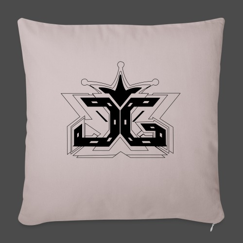 LOGO OUTLINE SMALL - Sofa pillowcase 17,3'' x 17,3'' (45 x 45 cm)