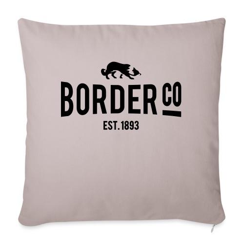Border Co - Housse de coussin décorative 45x 45cm