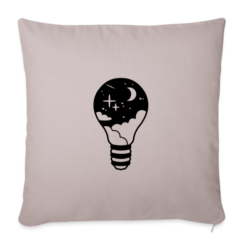 Le Ciel Dans Une Ampoule - Housse de coussin décorative 44x 44cm