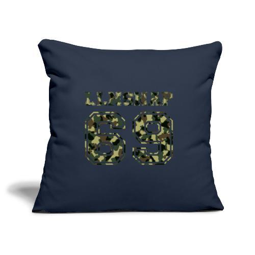 LLNsnap 69 (camo) - Housse de coussin décorative 45x 45cm