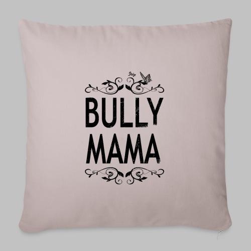 Stolze Bully Mama - Motiv mit Schmetterling - Sofakissenbezug 44 x 44 cm