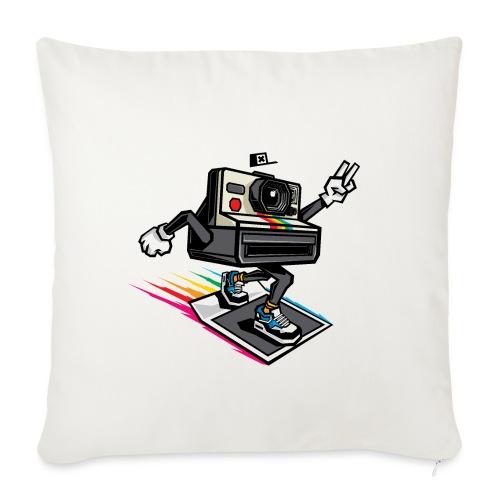 Appareil Polaroid 1000 - Housse de coussin décorative 45x 45cm