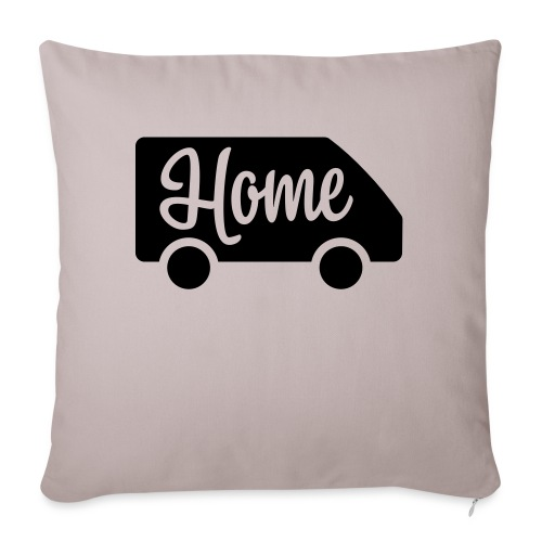 Home in a van - Autonaut.com - Sofa pillowcase 17,3'' x 17,3'' (45 x 45 cm)