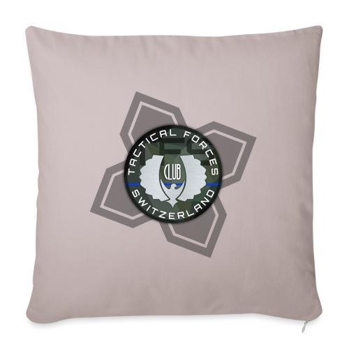 TFS Badge Camo - Housse de coussin décorative 45x 45cm