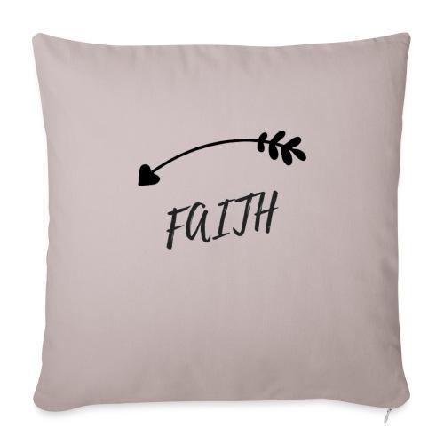 faith - Housse de coussin décorative 45x 45cm