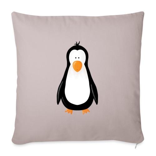 Pinguin Fridolin - Sofakissenbezug 44 x 44 cm