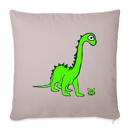 dinosauro - Copricuscino per divano, 45 x 45 cm