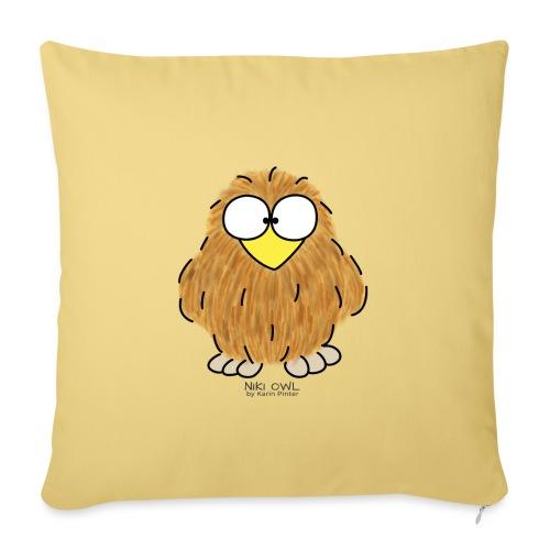 Niki Owl - Sofa pillowcase 17,3'' x 17,3'' (45 x 45 cm)