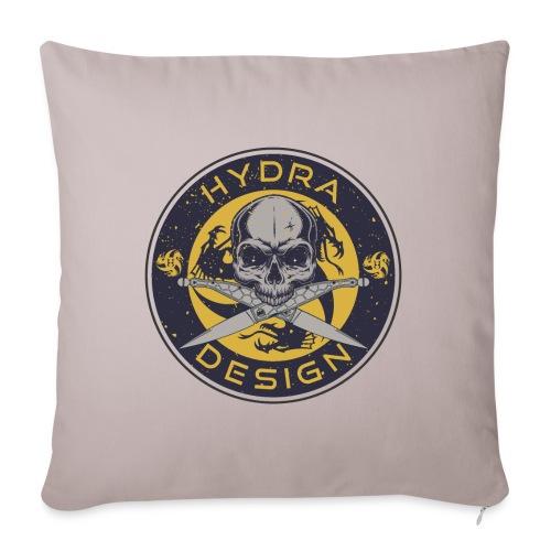 Hydra Design Roman knives & skull - Copricuscino per divano, 45 x 45 cm
